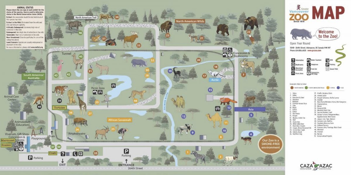 Zoo Map | Greater Vancouver Zoo Zoo Map on playground map, aquarium map, z nation map, zog map, community map, parks map, museum map, beach map, ocean map, illegal wildlife trade map, animal map, neighborhood map, bedroom map, world map, sense8 map, big cat map, singapore map, farm map, stadium map, the 100 map,